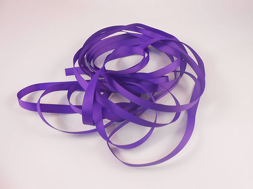 Purple Grosgrain Ribbon 3/8 inch wide trim 5 Yards scrapbooking supplies