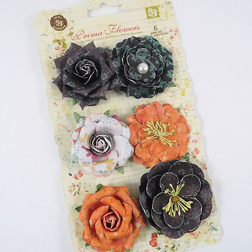 Prima Flowers Melody Paloma Collection 548407 scrapbook paper flowers
