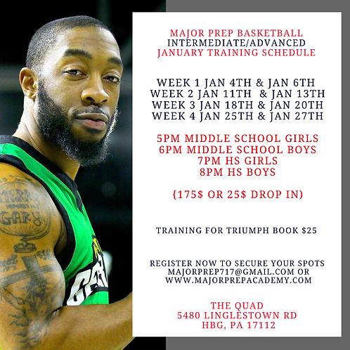January Intermediate Training