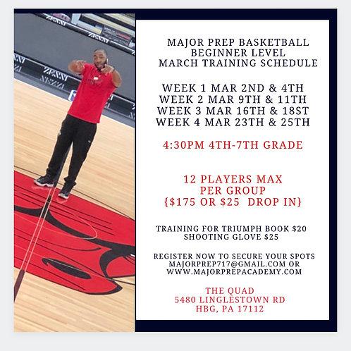 March Beginner Training