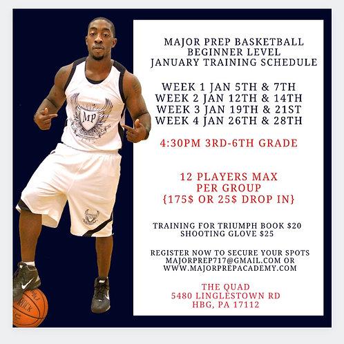 January Beginner Training