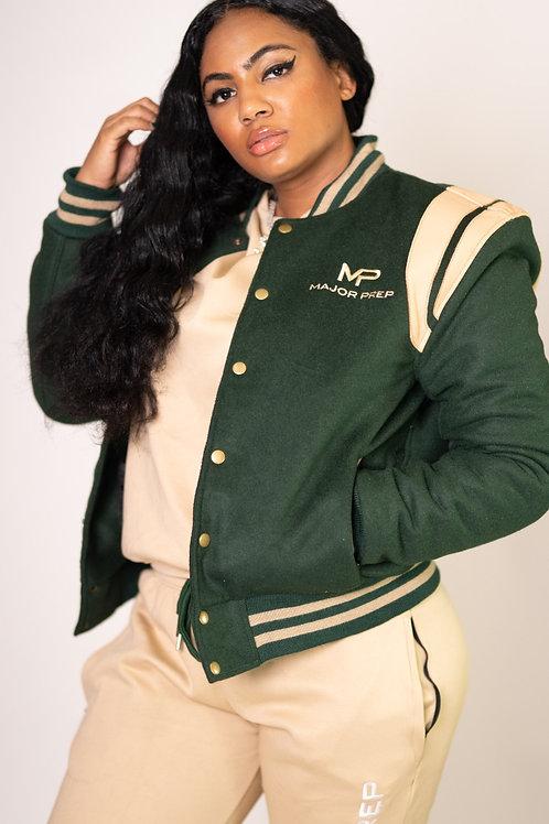 """""""Never Quit"""" Varsity Jacket"""