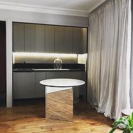 décorateur cuisine ilot central design