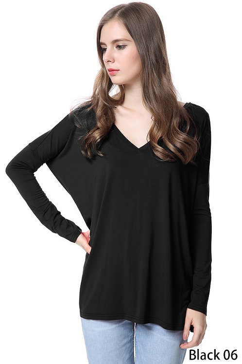 V-Neck PIKO Long Sleeve