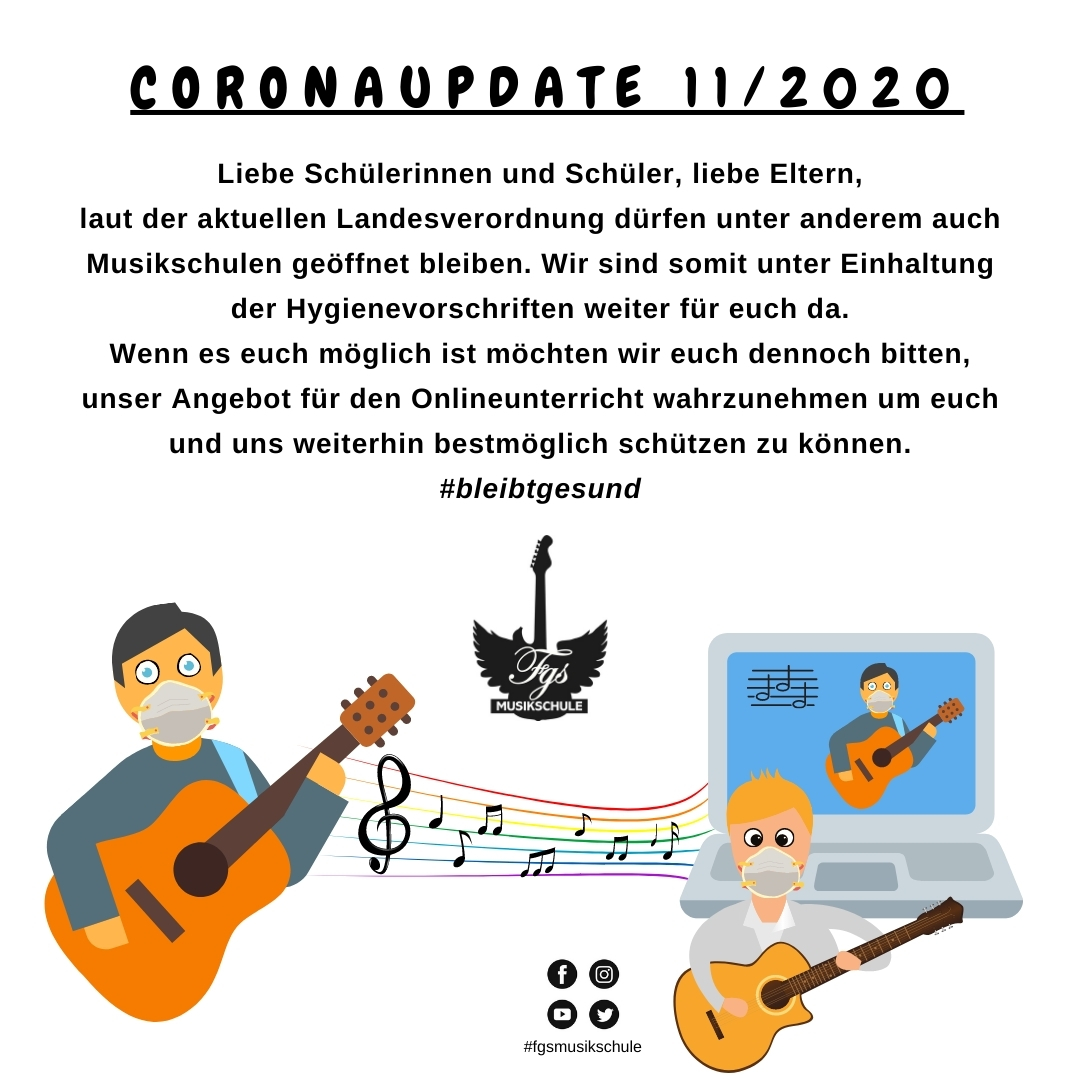 Coronaupdate 11/2020
