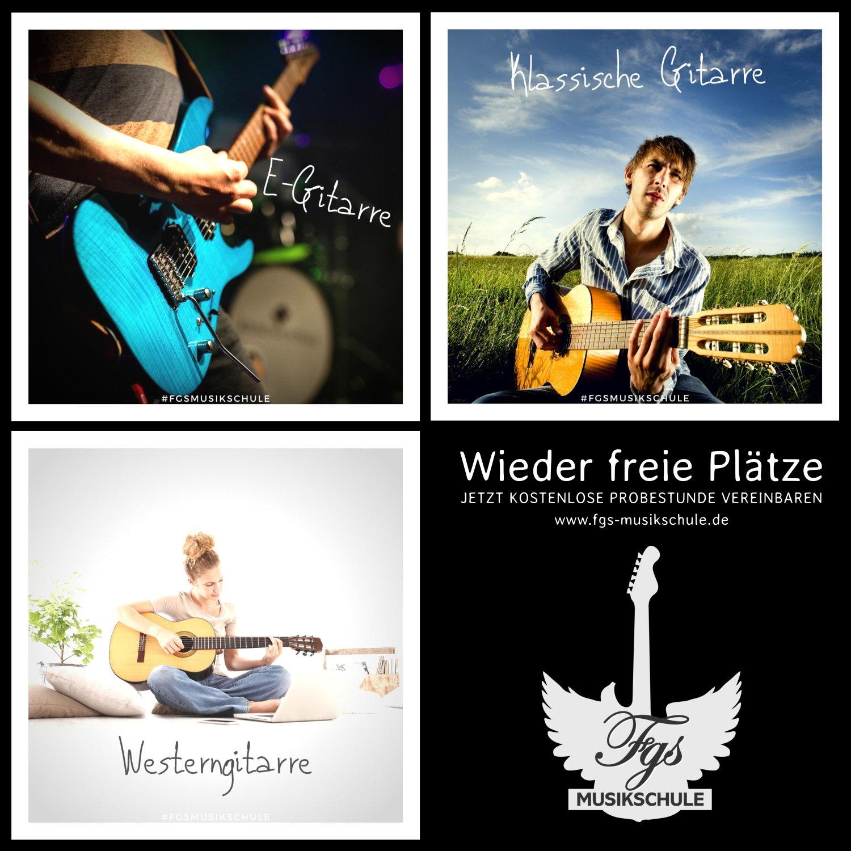 Gitarrenunterricht in Jena...