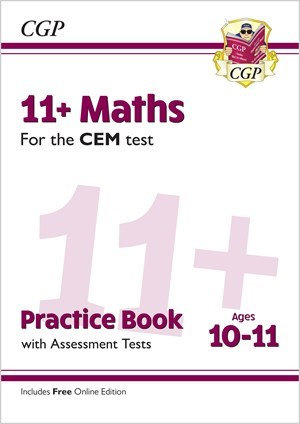New 11+ CEM Maths Practice Book & Assessment Tests - Ages 10-11
