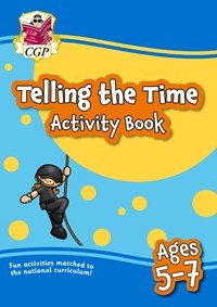 Telling the Time Activity Book - Ages 5-7