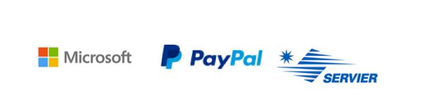 Microsoft PayPal Servier