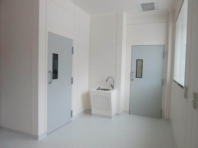 Fire-Rated GRP Doors