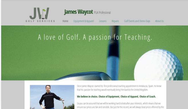 PGA Golf pro