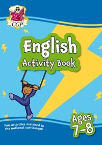 English Activity Book - Ages 7-8