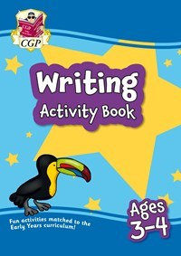 Writing Activity Book - Ages 3-4