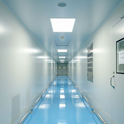 Corridors and door For Cleanroom manufac