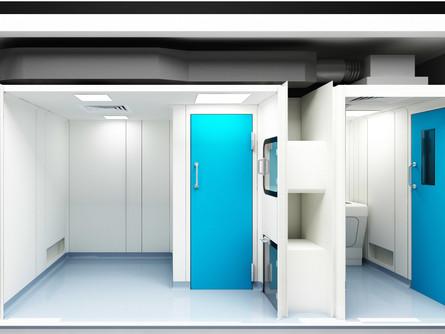 Ultra-Hygienic GRP Doors