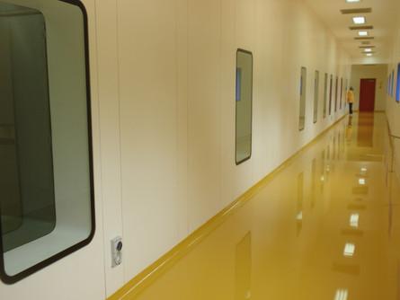 Stainless-steel flush secret-fix viewing Panels