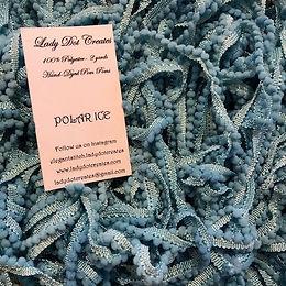 Polar Ice Pom Poms