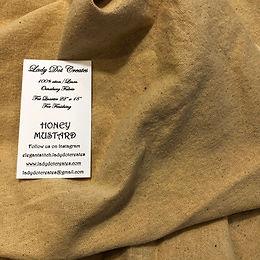 Honey Mustard Osnaburg