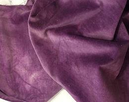 Purple Onion Velveteen