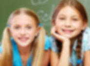 Sorrindo na classe