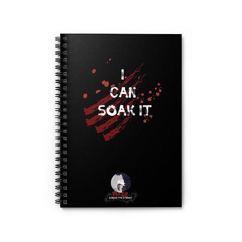 Notebook - I Can Soak It