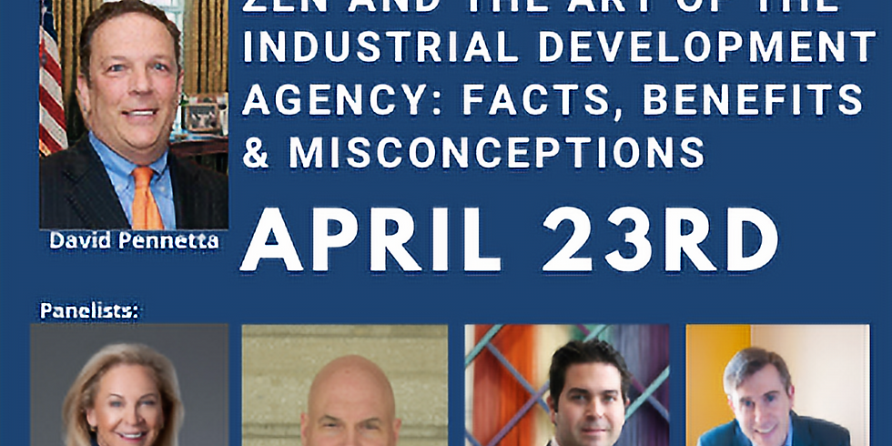 Zen and the Art of the Industrial Development Agency: Facts, Benefits and Misconceptions