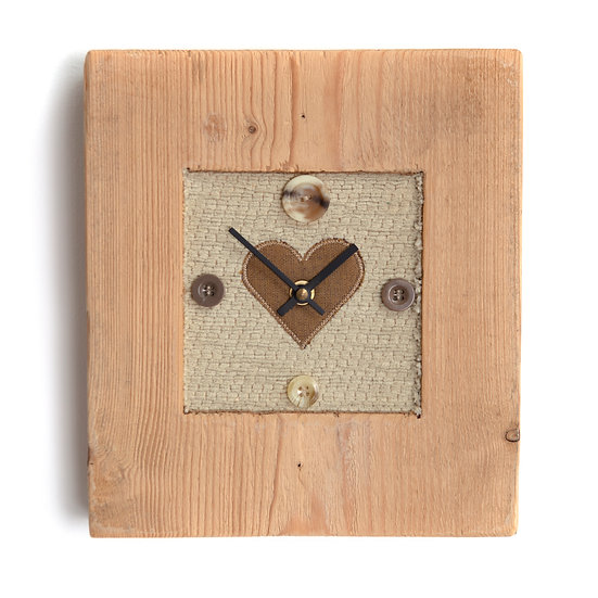 Hand Crafted Wooden Clock
