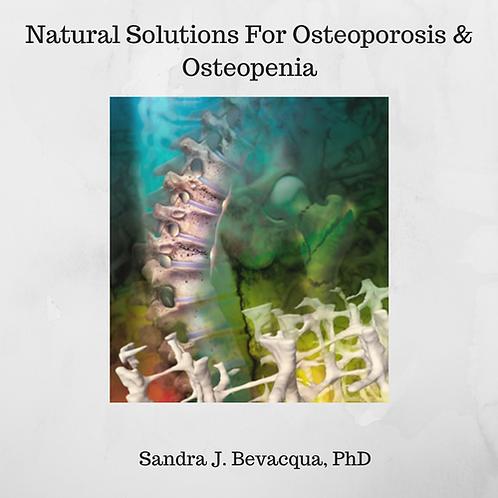 Osteoporosis & Osteopenia