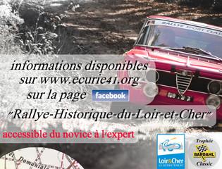 66 au départ, record battu pour le rallye Historique du Loir-et-Cher