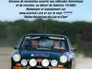 6ème rallye Historique du Loir-et-Cher, les classements