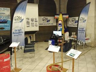 Gros succès du Stand «simulateur» de l'Ecurie 41 au Salon Mer Auto Retro les 6 et 7 octobre.