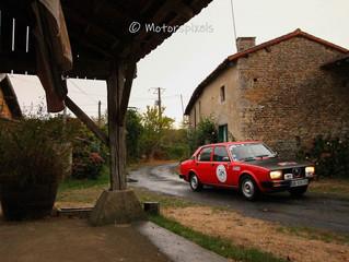 Fortunes diverses au Rallye Historique du Poitou...