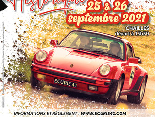 Rallye Historique du Loir-et-Cher, le règlement est en ligne