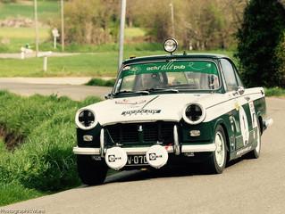 Gros programme pour Denis Gannay et sa vaillante Triumph.