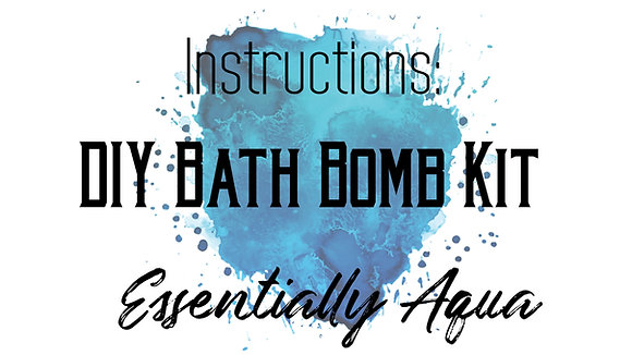 Instructions Bath Bomb Kit