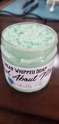 DIY Sugar Whipped Soap