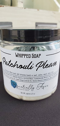 Patchouli Please Whipped Soap