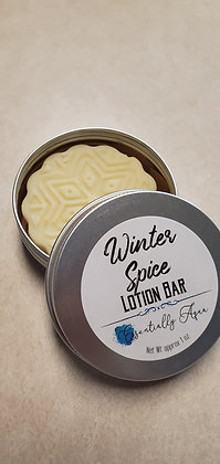 Winter Spice Lotion Bar