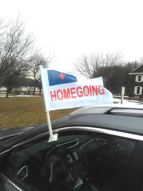 ECONOMY CHRISTIAN HOMEGOING AUTO FLAG
