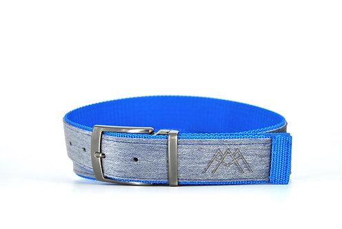 Grey & Electric blue