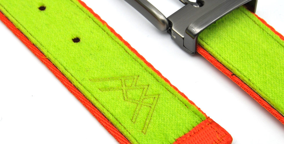 Belt from upcycled skitouring skins