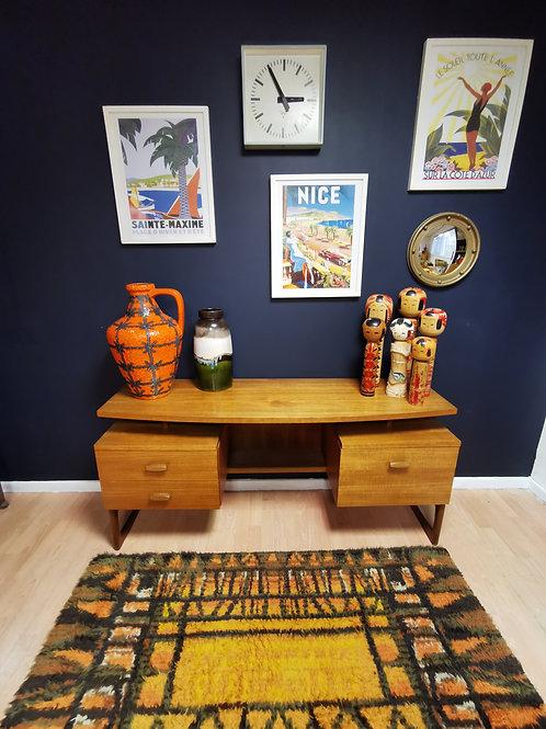 G plan E Gomme quadrille desk/dressing table