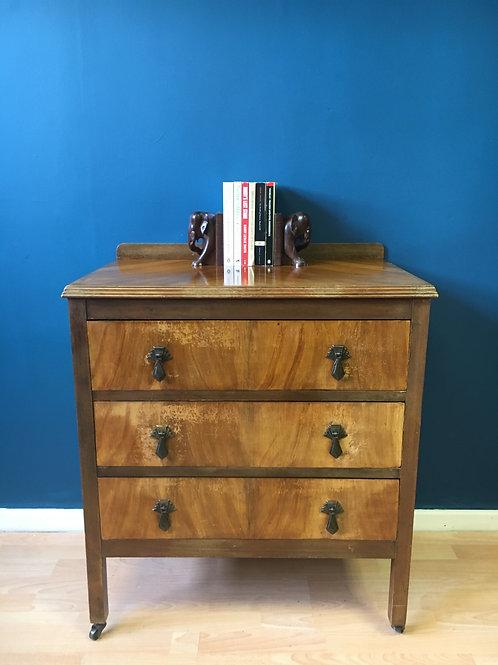 Vintage 3 Drawer chest