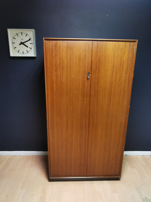 Greaves & Thomas walnut wardrobe