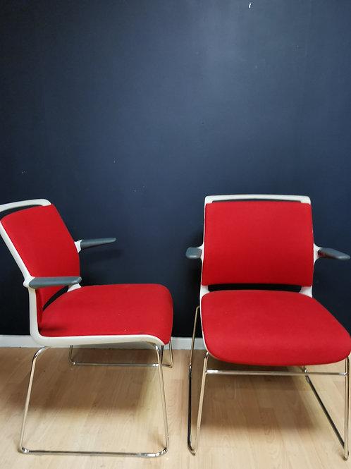 Pair of Senator chairs