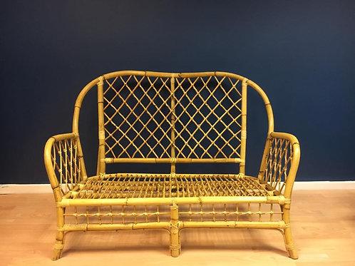 Bamboo 2 seater sofa (No cushion)
