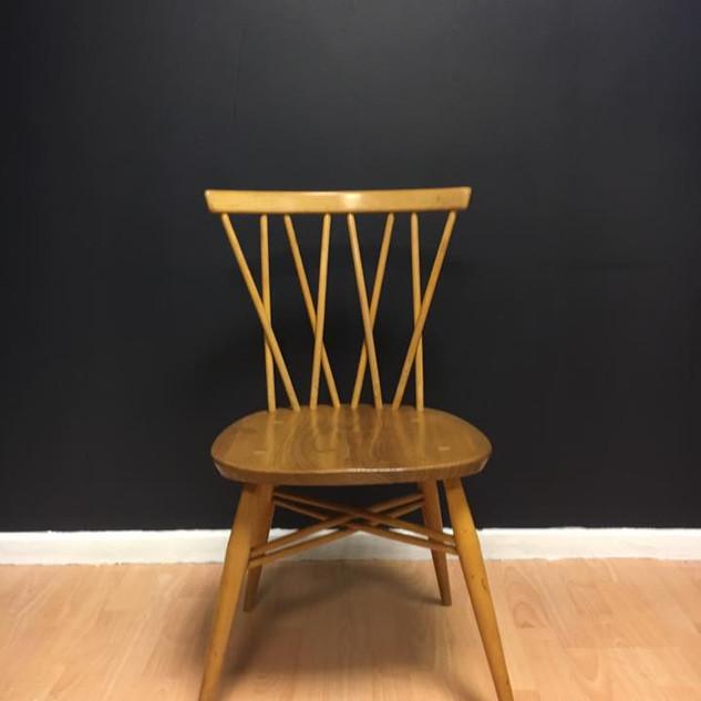 Ercol candlestick chair