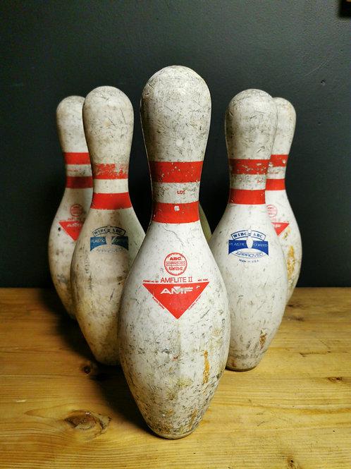 AMF Ten pin bowling pins