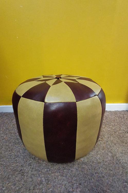1960s leather Footstool