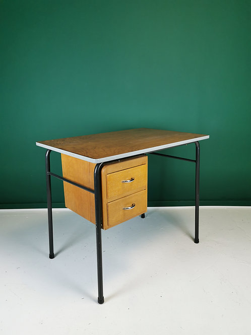 French mid century school desk
